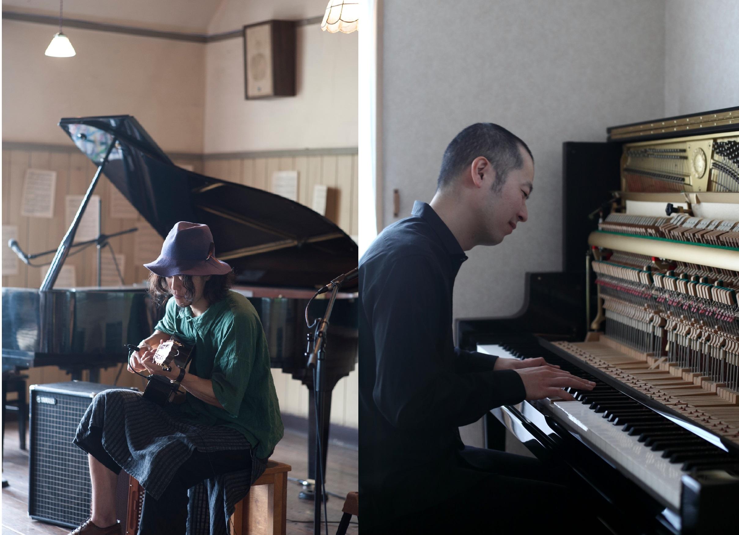 """コンサート告知 中村大史 × 平本正宏 """"PIANOscapes"""""""