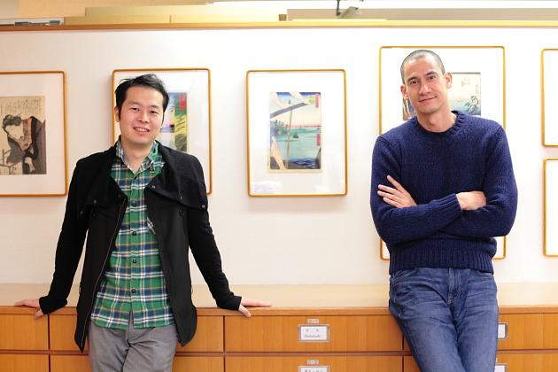 ケン・キャプラン(三田アーツ・オーナー)×平本正宏 対談 今に生きる浮世絵スピリット